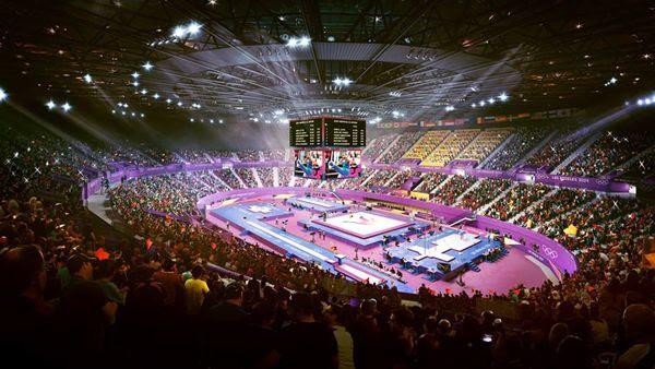The Forum in Inglewood is the proposed venue for gymnastics during the 2028 Los Angeles Games.