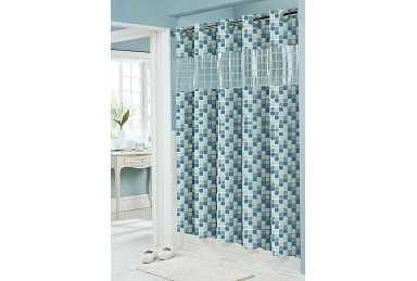 Hookless Shower Curtain