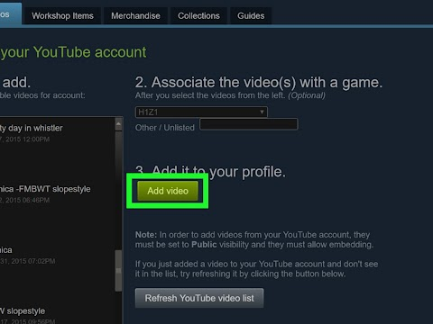 How To Upload A Video To Steam