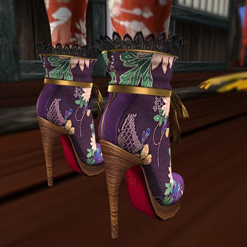 Purple Boots (back)
