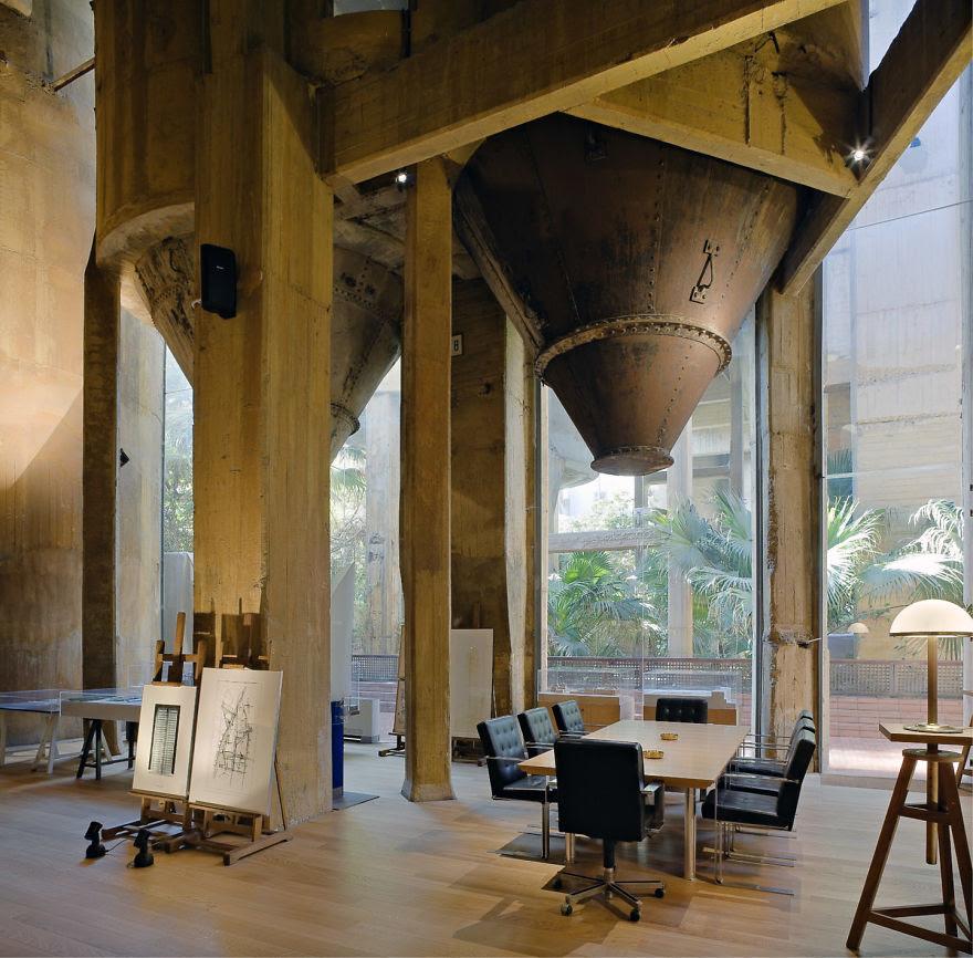 Ricardo Bofill casa personal cemento 5