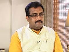 Ram Madhav To Meet Jammu And Kashmir BJP Leaders Over Government Formation