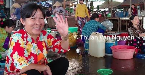 Vietnam || Lap Vo Rural Market || Dong Thap Province