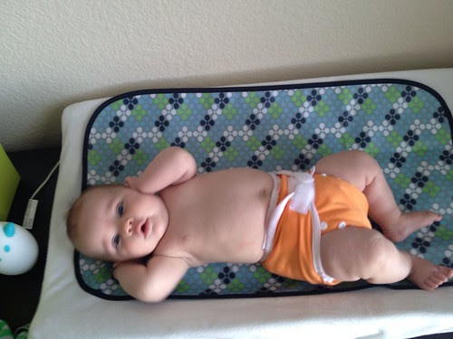 naked baby.