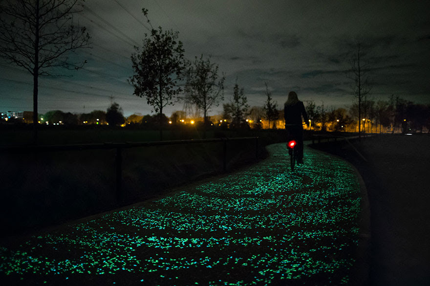 http://www.boredpanda.com/van-gogh-starry-night-glowing-bike-path-daan-roosegaarde/