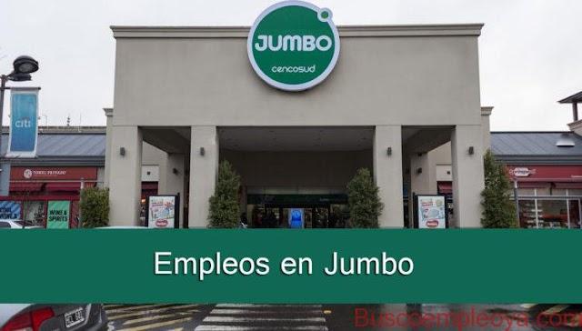 Empleos vacantes en Jumbo sin experiencia