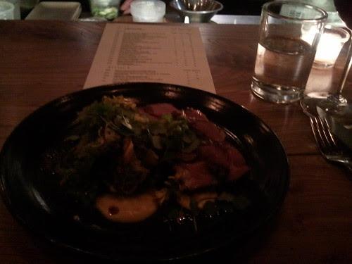 Pork Loin at Plum in Oakland Good, Overpriced