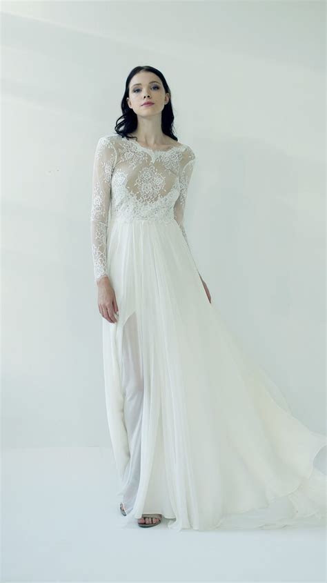 3731 best Long sleeved & 3/4 length sleeve wedding gown