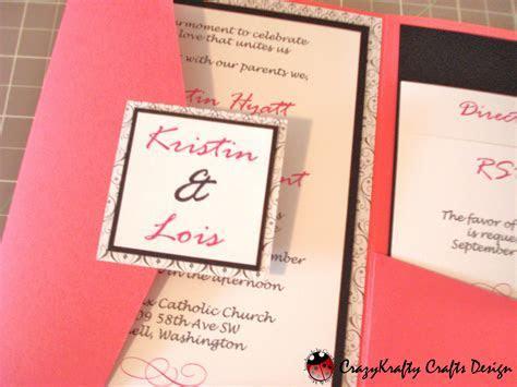 Wedding Card. Wedding Invitation Design Cricut Pocket