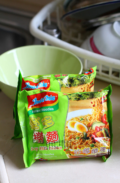 Satay BBQ Chicken Indomie Goreng - Hong Kong Version