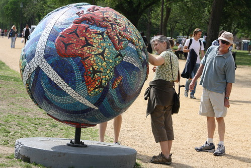 103.CoolGlobes.EarthDay.NationalMall.WDC by Elvert Barnes, on Flickr