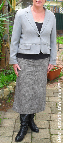 Jacket & Pants Skirt