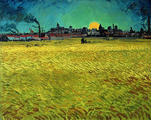 van-gogh, summer evening june1888