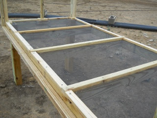 Meat Dryer Screened Bottom with Frame