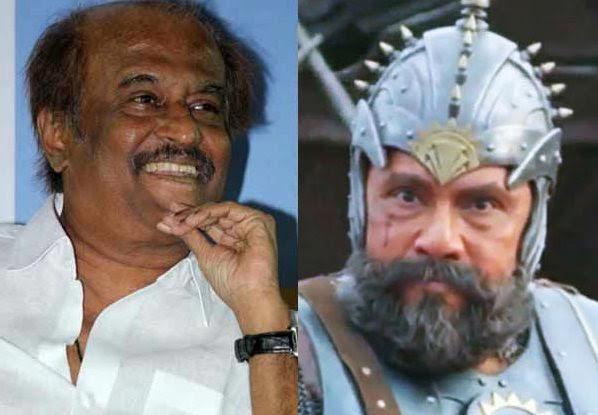 Sathyaraj in Superstar Rajinikanth's film