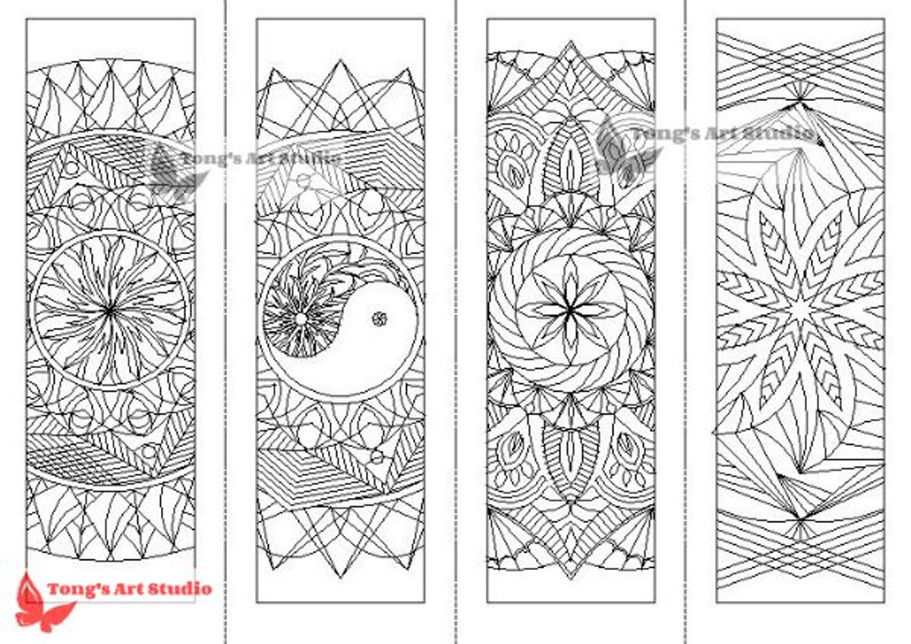 Mandala Coloring Bookmark 1 wm__63368