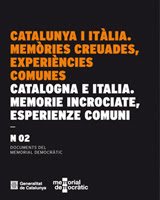 Catalunya i itàlia. Memòries creuades, experiències comunes