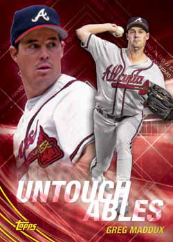 2017 Topps Update Series Baseball Untouchables