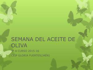 Semana Del Aceite De Oliva