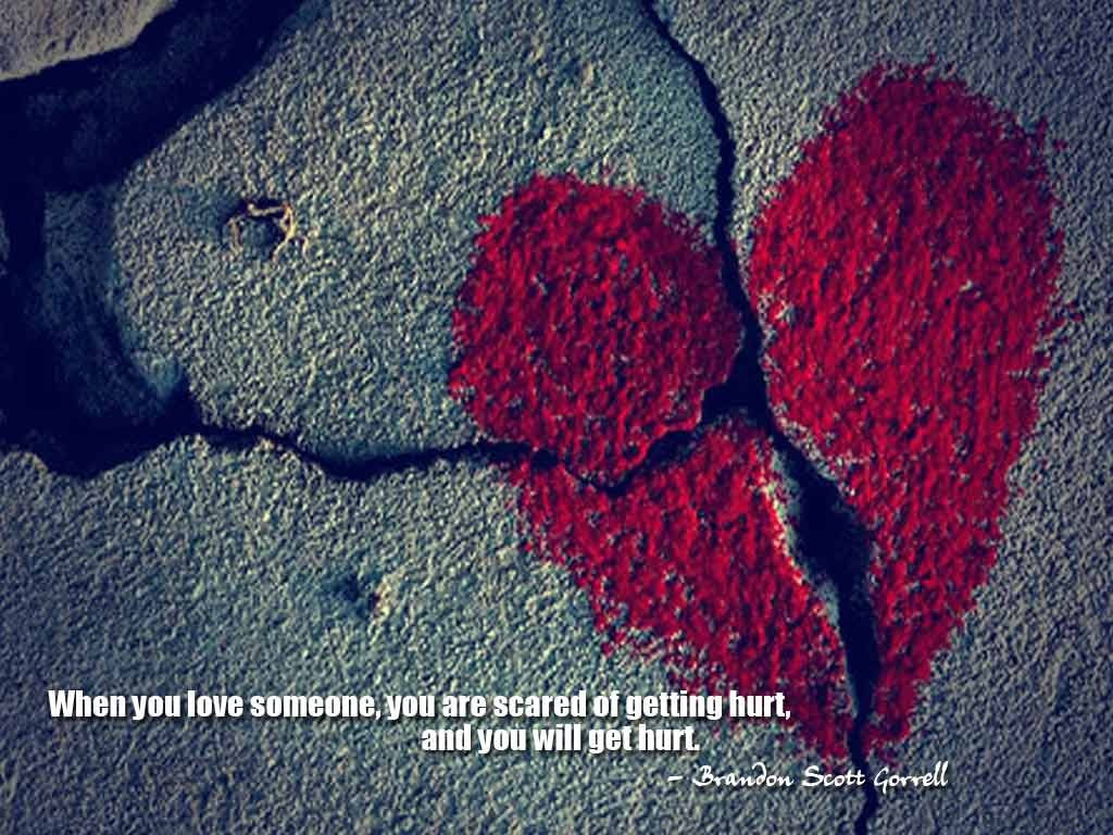 Being Hurt By Someone You Love Quote 2 Picture Quote 1