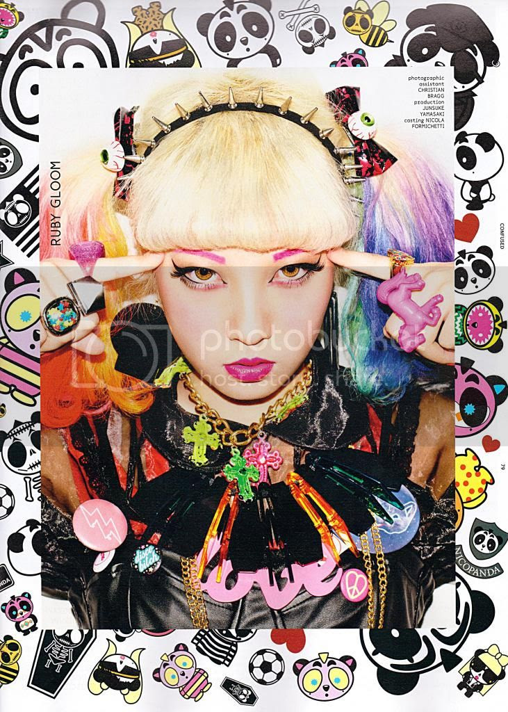 Colours Of The Spring Kyary On The Cover Of Dazed And