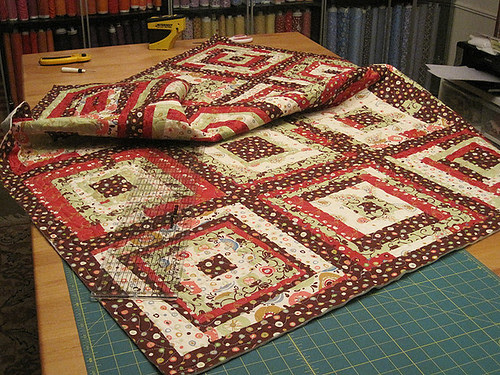 SewConnected 3 Quilt - almost done!