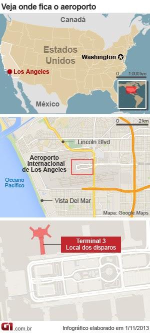 mapa tiroteio los angeles v. 4 (Foto: 1)