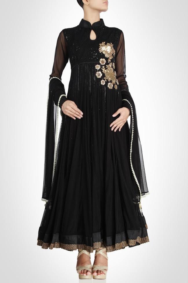 Beautiful-Gorgeous-Wedding-Bridal-Anarkali-Frock-Dresses-for-Girls-Fashion-by-Designer-Kiran-&-Shruti-Aksh-6