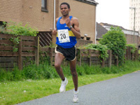 Race Winner - Amanuel Hagos