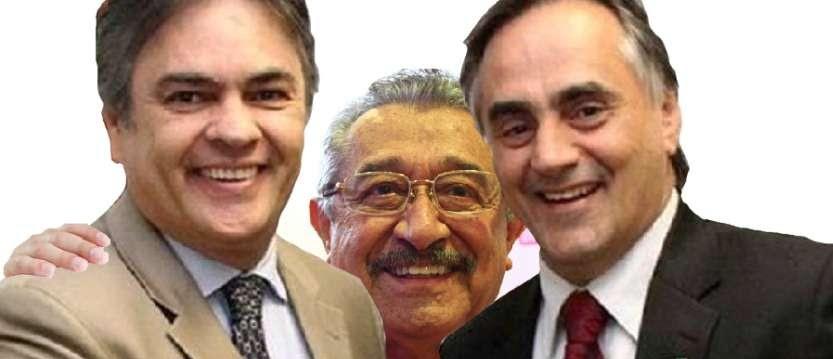 Resultado de imagem para Maranhão, Cartaxo e Cássio Romero