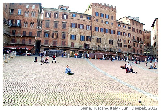 Favourite places, Siena Italy - Images by Sunil Deepak, 2012