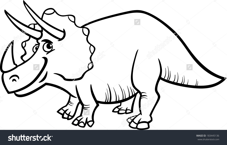 dinosaur cartoon drawing 44