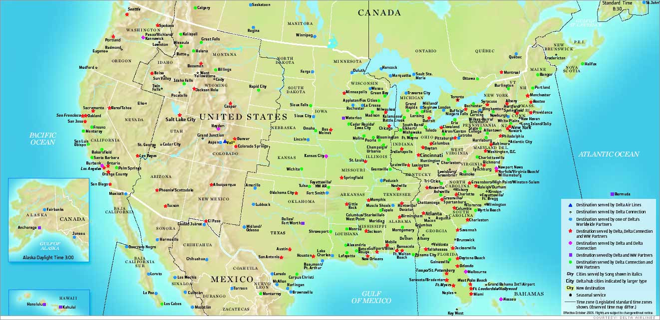 Maps Us Map Routes - Map of us routes