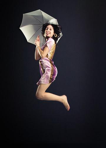 Michelle can jump!