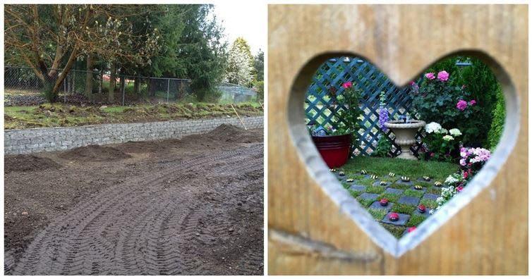Как превратить уродливый сад в райский уголок