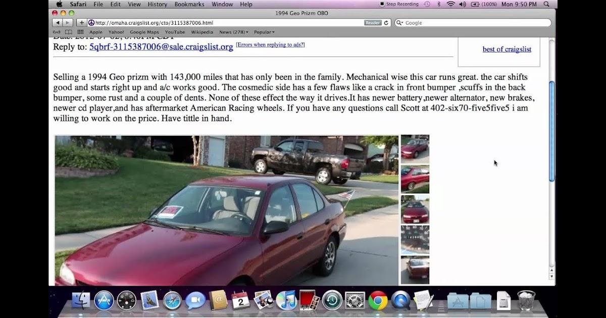 Used Cars Lincoln Ne Craigslist