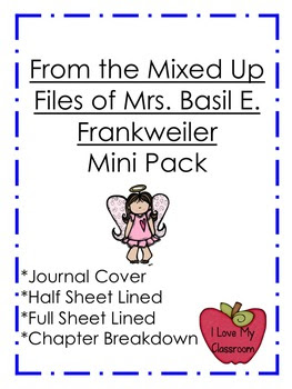 From the Mixed Up Files of Mrs. Basil E. Frankweiler Mini Pack