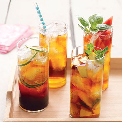 Peach and Mint Iced TeaRecipe