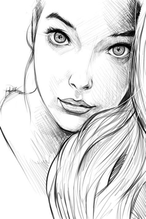 image result  simple human face drawing reference