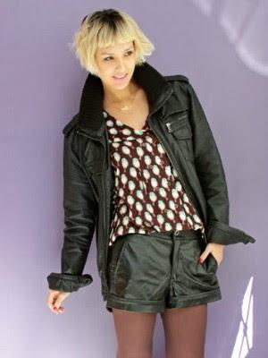 Jaquetas de couro não faltam no armário da Tamy (Foto: De Repente/ Divulgação)
