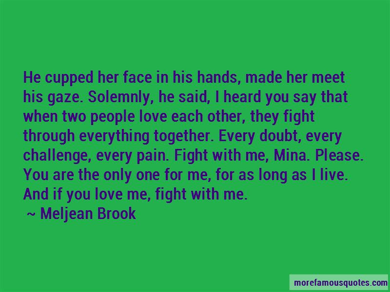 Two Hands Together Love Quotes Top 14 Quotes About Two Hands
