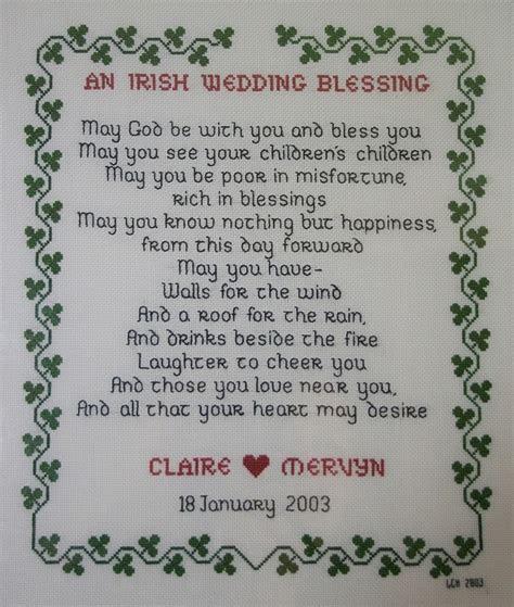 irish wedding blessing feel
