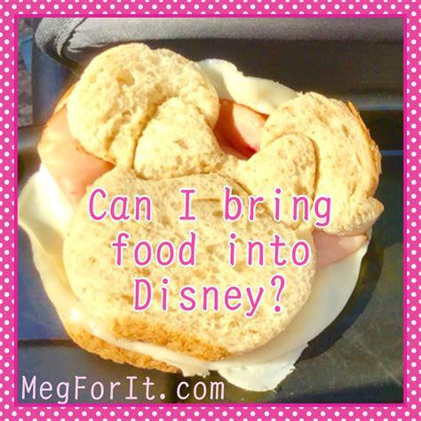 bring food  disney food