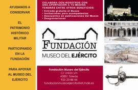 Una Fundación abierta a todos; cualquier persona o empresa puede apoyar al Museo del Ejército.