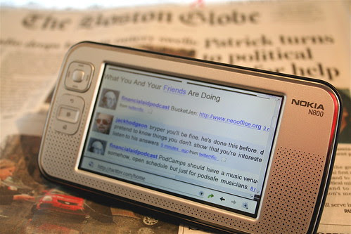 Nokia N800 Delivers the News