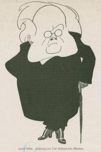 Henrik Johan Ibsen -- Caricatu... Digital ID: 1264394. New York Public Library