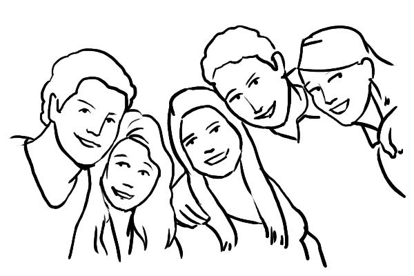 Позирование: позы для групповых портретов 6