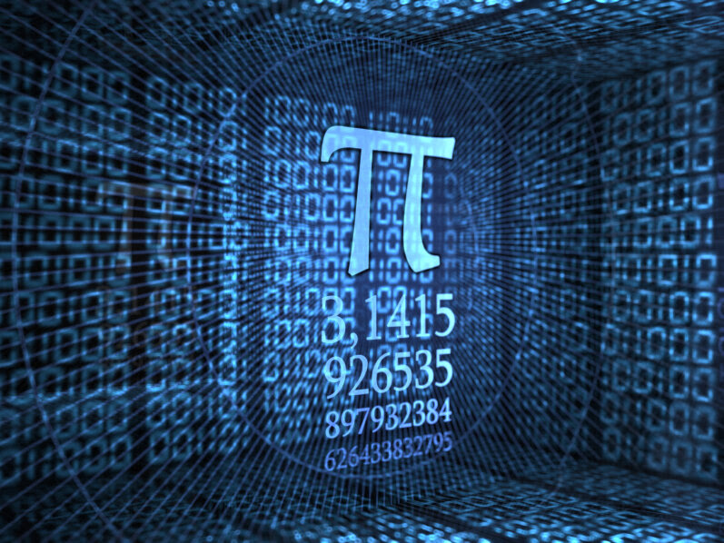 The math symbol Pi.