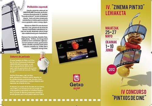 Iv concurso pintxos de cine de cinegourland 1 3 mikel agirregabiria - Cines puerto deportivo getxo ...