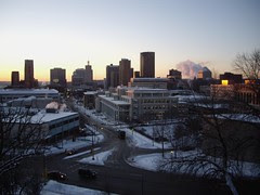 Downtown St. Paul at Sunrise